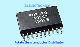 Potato Semiconductor Distributor Active Electronic Parts IBS Electronics Global Electronics Parts and Components Distributor